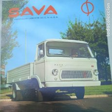 Coches y Motocicletas: HOJA PUBLICITARIA. SAVA. CAMION S-311. ENASA. Lote 261694680