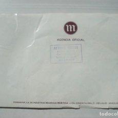 Coches y Motocicletas: CATÁLOGO PUBLICIDAD FOLLETO PUBLICITARIO OFICIAL MOTO MOTOCICLETAS MONTESA TRIAL TRAIL COTA 1977. Lote 262644725