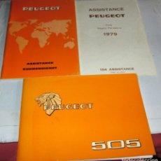 Coches y Motocicletas: PEUGEOT 505-3 MANUALES DEL MODELO DE 1978. Lote 262999055