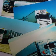 Coches y Motocicletas: 4 FOTOGRAFÍAS PEGASO TRONER CABINAS TX, TR,TS, TL, AÑO 1989. Lote 263072855