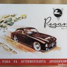 Coches y Motocicletas: PEGASO Z-102 BE | 1952 | CATÁLOGO/FOLLETO/PUBLICIDAD (Z102). Lote 263188360