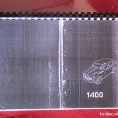 Coches y Motocicletas: SEAT 1400 USO Y ENTRETENIMIENTO (1ª ED.1953). NO ORIGINAL. Lote 263595825