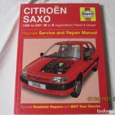 Coches y Motocicletas: CITROEN SAXO 1996 / 2001 MANUAL DE REPARACION Y SERVICIO. Lote 265166339