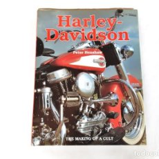 Coches y Motocicletas: HARLEY DAVIDSON THE MAKING OF A CULT AÑO 1995. Lote 265322624