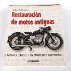Coches y Motocicletas: RESTAURACION DE MOTOS ANTIGUAS JURGEN GABEBNER AÑO 2006. Lote 265324674