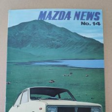 Coches y Motocicletas: MAZDA NEWS - CATALOGO 1971 - Nº 14 . EN INGLÉS. Lote 265524664