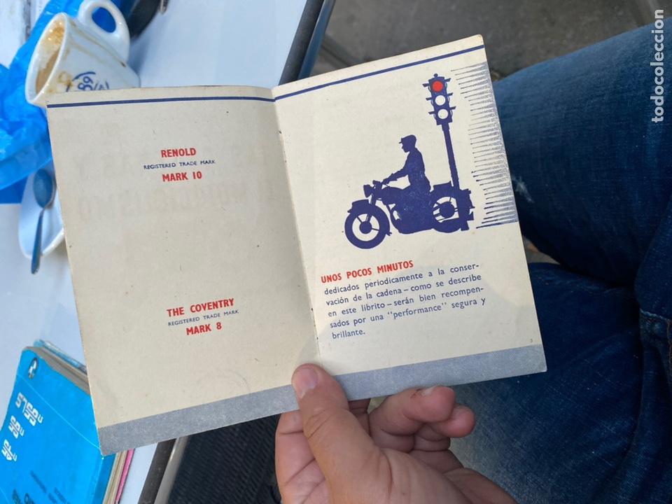 Coches y Motocicletas: Manual de instrucciones las cadenas y el motociclismo años 1947 - Foto 6 - 268458754