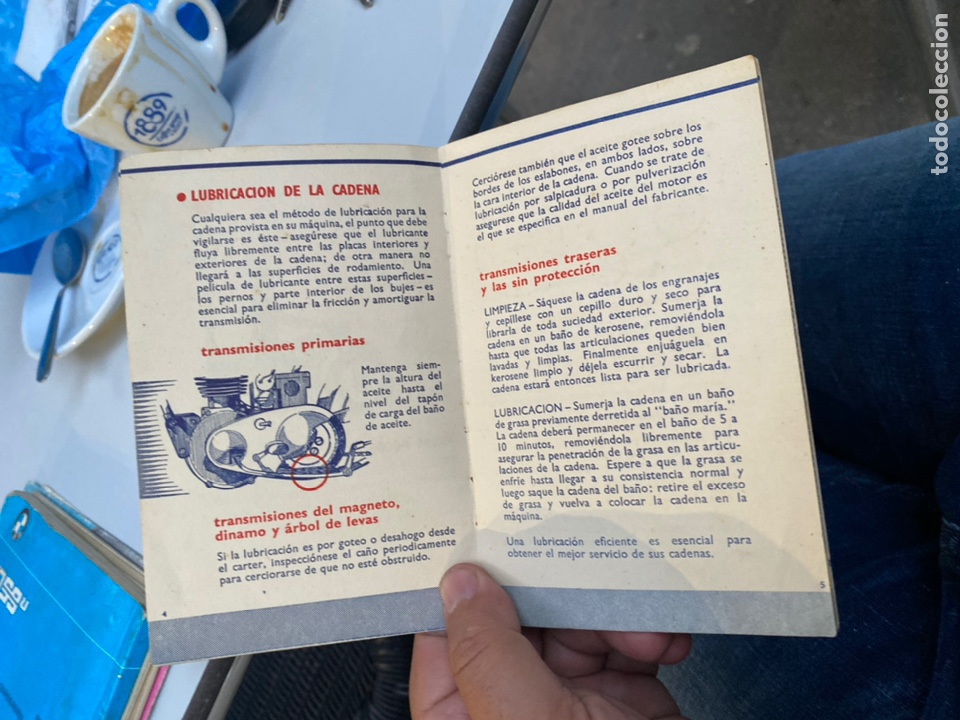 Coches y Motocicletas: Manual de instrucciones las cadenas y el motociclismo años 1947 - Foto 7 - 268458754