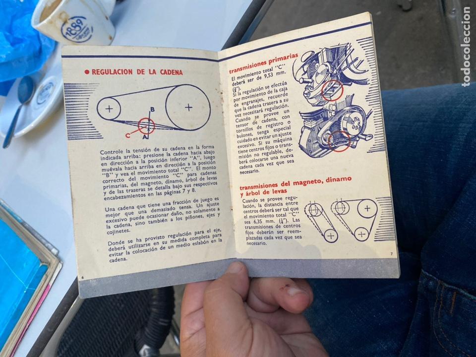 Coches y Motocicletas: Manual de instrucciones las cadenas y el motociclismo años 1947 - Foto 8 - 268458754