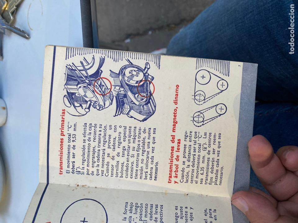 Coches y Motocicletas: Manual de instrucciones las cadenas y el motociclismo años 1947 - Foto 9 - 268458754