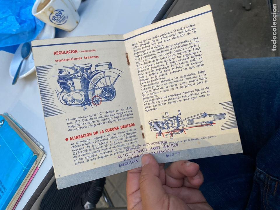 Coches y Motocicletas: Manual de instrucciones las cadenas y el motociclismo años 1947 - Foto 10 - 268458754