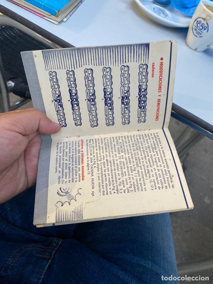 Coches y Motocicletas: Manual de instrucciones las cadenas y el motociclismo años 1947 - Foto 11 - 268458754