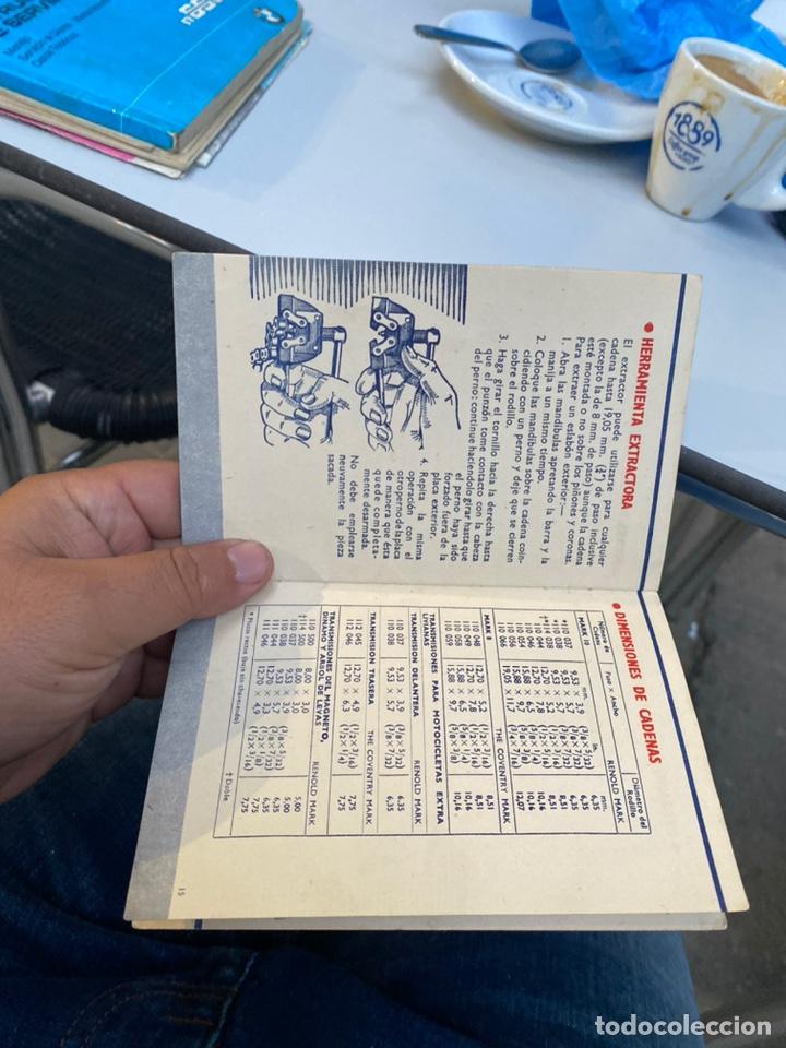 Coches y Motocicletas: Manual de instrucciones las cadenas y el motociclismo años 1947 - Foto 12 - 268458754