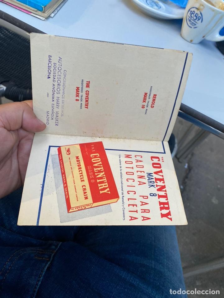 Coches y Motocicletas: Manual de instrucciones las cadenas y el motociclismo años 1947 - Foto 13 - 268458754