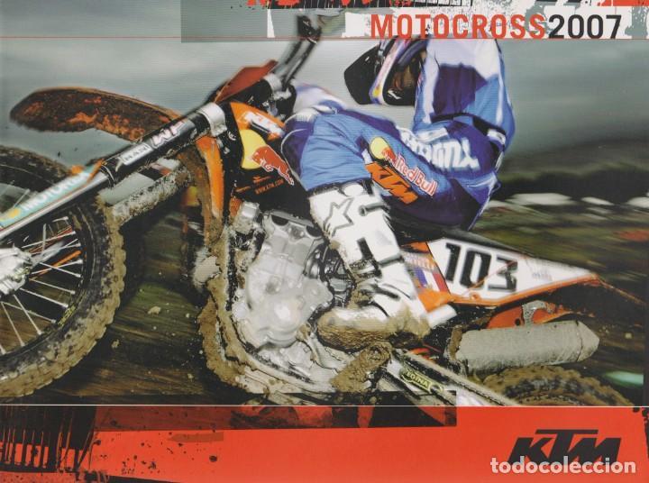 CATÁLOGO KTM MOTOCROSS 2007 (Coches y Motocicletas Antiguas y Clásicas - Catálogos, Publicidad y Libros de mecánica)