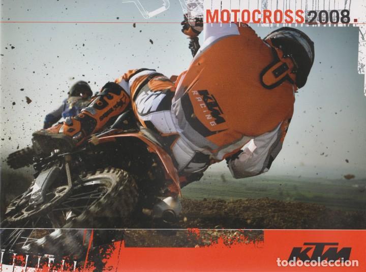 CATÁLOGO KTM MOTOCROSS 2008 (Coches y Motocicletas Antiguas y Clásicas - Catálogos, Publicidad y Libros de mecánica)