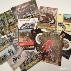 Coches y Motocicletas: LOTE CATALOGOS MOTOS BULTACO VINTAGE, (ALGUNOS REPETIDOS), ORIGINALES DE EPOCA. Lote 269108223
