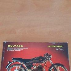 Carros e motociclos: BULTACO STREAKER (MANUAL INSTRUCCIONES). Lote 269174148