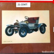 Coches y Motocicletas: CUADRO FOTOGRAFÍA COCHE ANTIGUO SIZANE-NAUDIN 1906. Lote 269273618