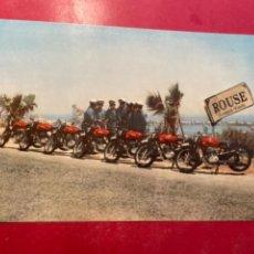 Coches y Motocicletas: MOTOCICLISMO -MOTOS MONTESA 1955 FELICITACIÓN PERMANYER S.A. VICTORIAS CONSEGUIDAS EN EL AÑO 1954. Lote 269378548