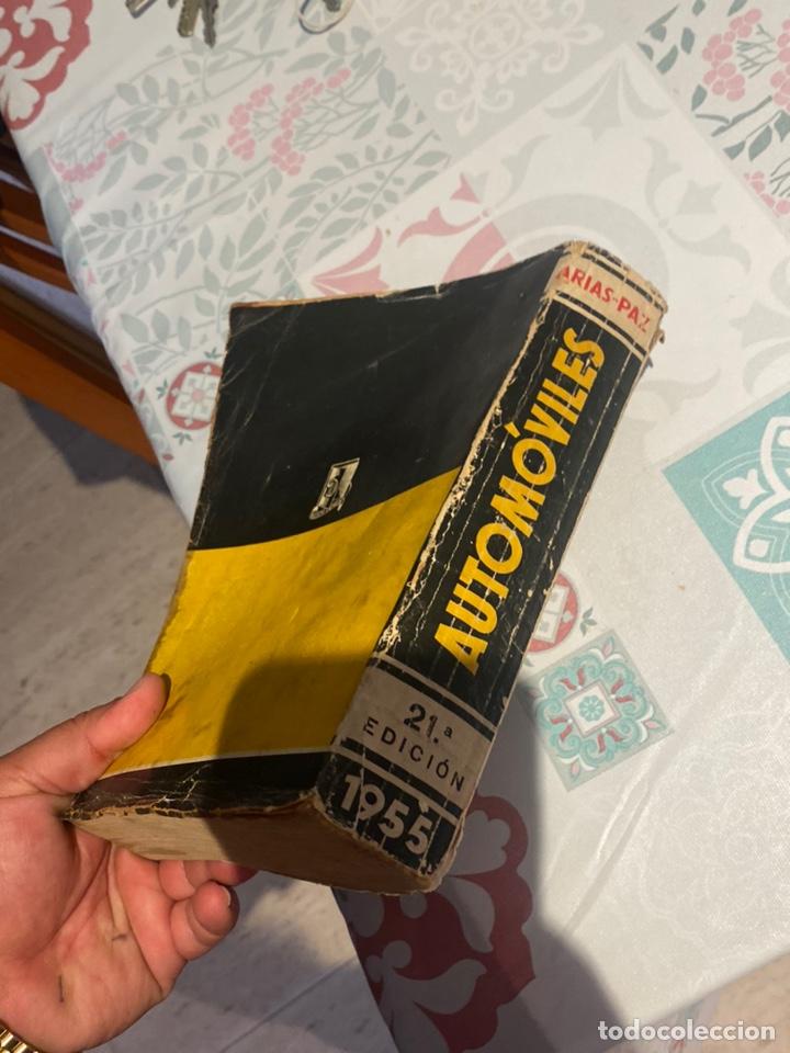 Coches y Motocicletas: Manual de automóviles 21 edición 1955 (Manuel Arias-Paz) Editorial Dossat - Foto 5 - 270407248