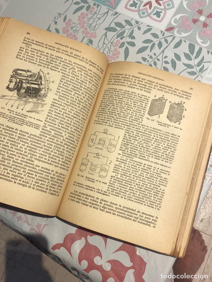 Coches y Motocicletas: Manual de automóviles 21 edición 1955 (Manuel Arias-Paz) Editorial Dossat - Foto 13 - 270407248