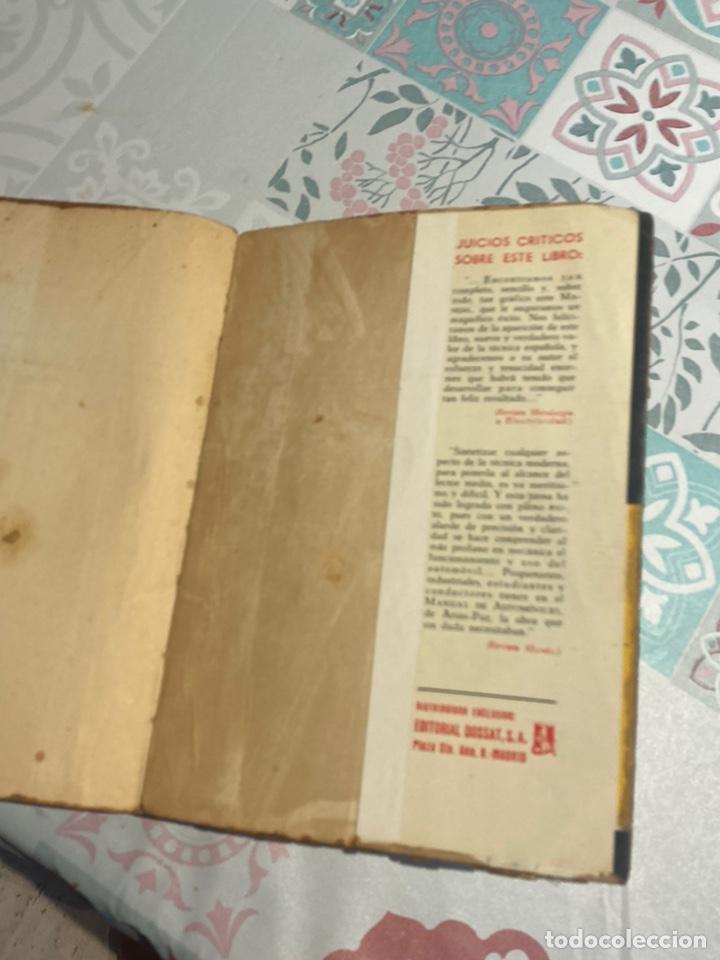 Coches y Motocicletas: Manual de automóviles 21 edición 1955 (Manuel Arias-Paz) Editorial Dossat - Foto 22 - 270407248
