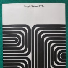 Automobili e Motociclette: BANG & OLUFSEN CATÁLOGO 1976. Lote 271073238