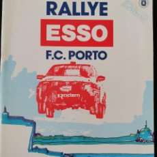 Coches y Motocicletas: 1990 RALLYE ESSO F.C PORTO REGULAMENTO CAMPEONATO NACIONAL DE RALLYES. Lote 271669108