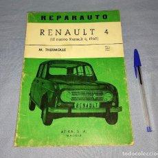 Automobili e Motociclette: MANUAL DE REPARACION REPARAUTO DEL RENAULT 4 DE ATIKA S.A. AÑO 1968 ORIGINAL. Lote 271931308