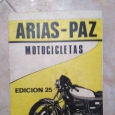 Coches y Motocicletas: ARIAS-PAZ MOTOCICLETAS, EDICIÓN 25 ( 1979 ). Lote 273755433