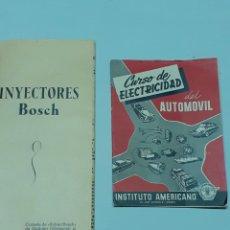 Coches y Motocicletas: DOS LIBROS DE MECÁNICA, INYECTORES Y DE ELECTRICIDAD ,AÑO 1958. Lote 275333438