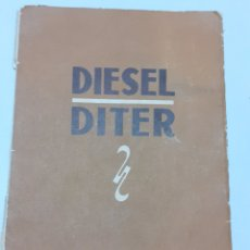 Automobili e Motociclette: LIBRO DE GARANTÍA DEL MOTOR DITER,AÑO 1957. Lote 275334183