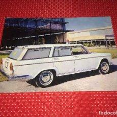 Carros e motociclos: AMBULANCIA SEAT 1500 - FOLLETO PUBLICITARIO - AÑO 1966. Lote 276031558