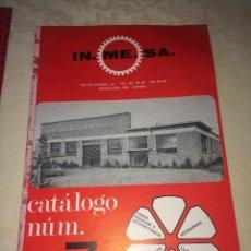 Carros e motociclos: IN.ME.SA - CATÁLOGO MAYO 1974 - CAMIONES PEGASO Y OTROS - ESPEJOS-FAROS-LLAVES RUEDAS-ETC.. Lote 276035483