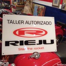 Automobili e Motociclette: MOTO RIEJU LETRERO TALLER AUTORIZADO. Lote 276081258