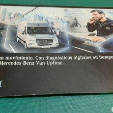 Coches y Motocicletas: MERCEDES BENZ DIAGNÓSTICOS DIFUTAKES VAN UPTINE CASTELLANO. Lote 276922033