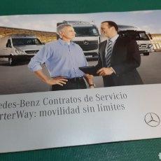 Coches y Motocicletas: MERCEDES BENZ CATÁLOGO SERCICIO CHARTER WAY MOVILIDAD SIN LÍMITES. Lote 276922928