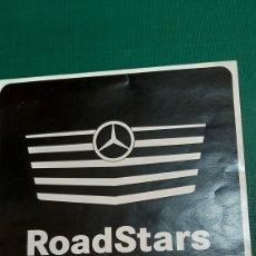 Coches y Motocicletas: ROADSTARS MERCEDES BENZ TRUCKS TRUCKS PUBLICIDAD. Lote 276923188