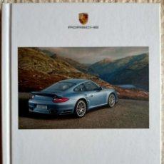 Coches y Motocicletas: CATÁLOGO PORSCHE 911 TURBO Y 911 TURBO S. NOVIEMBRE 2009. EN ESPAÑOL *. Lote 277198558