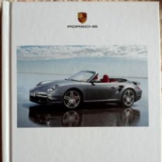Coches y Motocicletas: CATÁLOGO PORSCHE 911 TURBO. ABRIL 2008. EN ESPAÑOL *. Lote 277198763