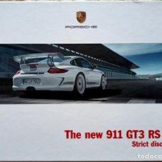 Coches y Motocicletas: CATÁLOGO PORSCHE 911 GT3 RS 4.0. ABRIL 2011. EN INGLÉS *. Lote 277199203