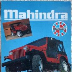 Coches y Motocicletas: CATÁLOGO MAHINDRA CJ3 D Y CJ4 D. 1990. EN ESPAÑOL *. Lote 277200328