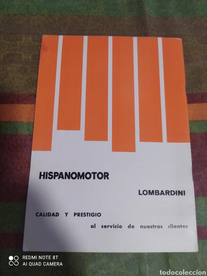 Coches y Motocicletas: LIBRO SERVICIO ASISTENCIA TÉCNICA LOMBARDINI - Foto 2 - 277416133