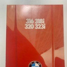Coches y Motocicletas: CATÁLOGO FOLLETO PUBLICIDAD ORIGINAL BMW 316 320 318I 323I DE 1980. Lote 277458718