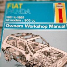 Coches y Motocicletas: MANUAL FIAT PANDA 1981-1985 EN INGLES HAYENS TAPA DURA172 PG FOTOS. Lote 277601768