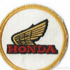 Coches y Motocicletas: PARCHE DE TELA HONDA. Lote 278347033