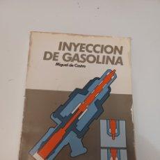 Coches y Motocicletas: BIBLIOTECA DEL AUTOMÓVIL CEAC INYECCIÓN DEL MOTOR POR MIGUEL DE CASTRO 1987. Lote 278408738