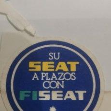 Voitures et Motocyclettes: PEGATINA FINANCIERA SEAT FISEAT. Lote 278615923