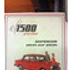 Coches y Motocicletas: POSTER PUBLICIDAD FIAT 1500. Lote 278903978
